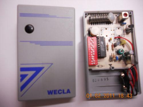 Wecla cd40tx handzender